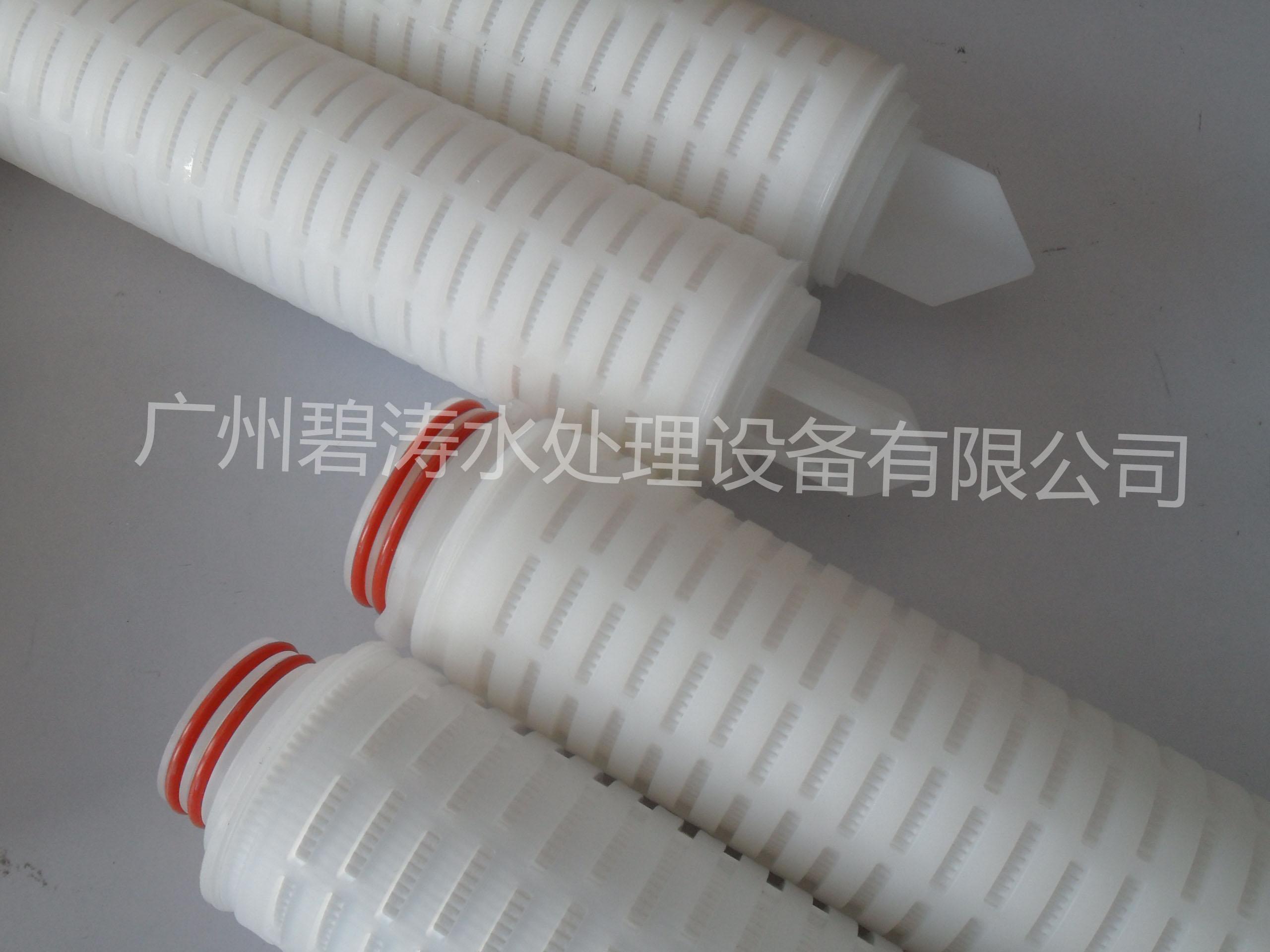 PVDF聚偏氟乙烯膜折叠滤芯