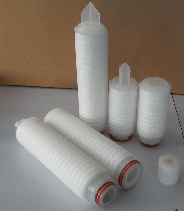微孔膜折叠滤芯|PTFE折叠滤芯|聚四氟乙烯折叠滤芯
