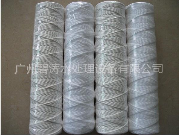 脱脂棉线绕滤芯|脱脂棉线缠绕式滤芯|PP线绕式滤芯