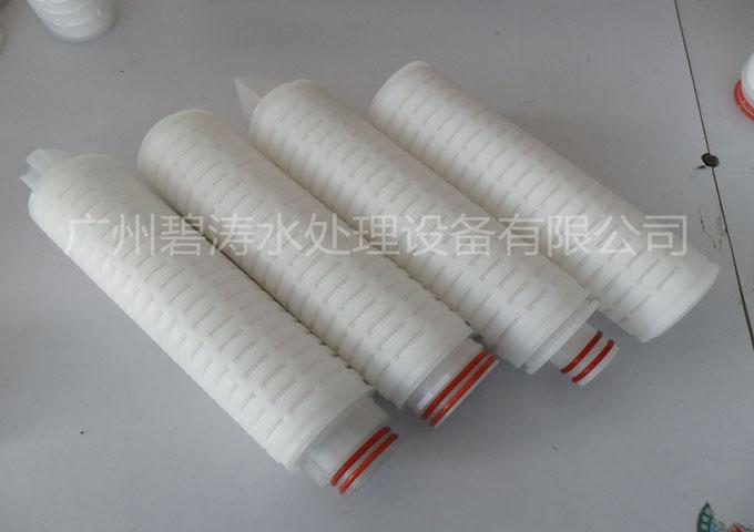 微孔膜折叠滤芯|聚丙烯/聚醚砜/聚四氟乙烯/尼龙膜折叠滤芯