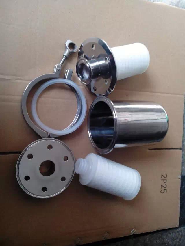 不锈钢空气呼吸器|发酵罐除菌过滤器|内装空气除菌过滤芯